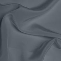 Silk Crepe de Chine Medium - Slate Grey