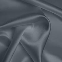 Silk Crepe backed Satin Heavy - Slate Grey