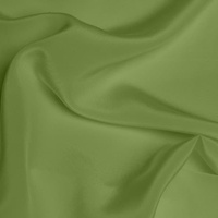 Silk Crepe De Chine Medium - Spring Green