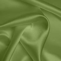 Silk Crepe backed Satin Heavy - Spring Green