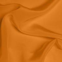 Silk Crepe de Chine Medium - Tangerine