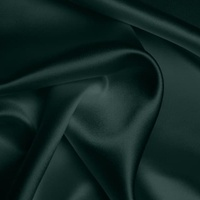 Silk Crepe backed Satin Heavy - Teal