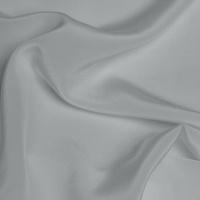 Silk Crepe de Chine Medium - Titanium Silver