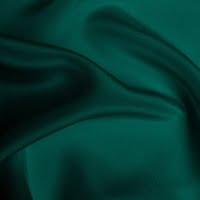 Silk Crepe de Chine Heavy - Ultramarine Green (Dyed To Order)