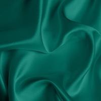 Silk Crepe backed Satin Medium - Ultramarine Green