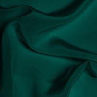 Silk Crepe de Chine Medium - Ultramarine Green
