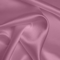 Silk Crepe backed Satin Heavy - Vintage Rose (Dyed To Order)