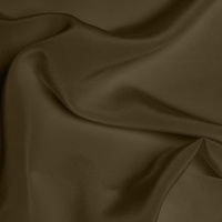 Silk Crepe de Chine Medium - Walnut