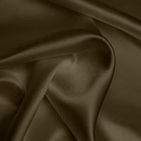 Silk Crepe backed Satin Heavy - Walnut