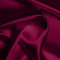 Silk Crepe backed Satin Heavy - Wine