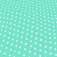 Medium Polka Dot - Aqua