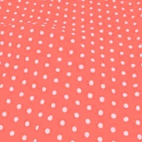 Medium Polka Dot - Coral
