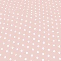 Medium Polka Dot - Rosewater