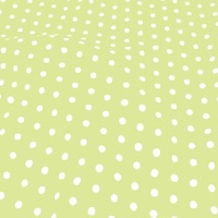 Medium Polka Dot Spring Green Ground