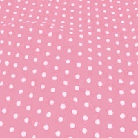 Medium Polka Dot - Vintage Rose