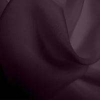 Silk Chiffon - Blackberry (Dyed To Order)
