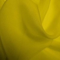 Silk Chiffon - Buttercup (Dyed To Order)