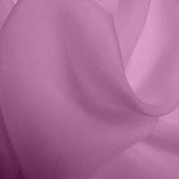 Silk Chiffon - Crushed Pink (Dyed To Order)
