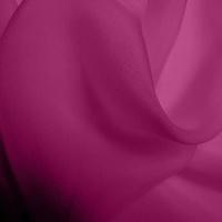 Silk Chiffon - Crushed Raspberry (Dyed To Order)