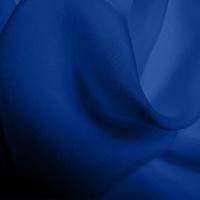 Silk Chiffon - Indigo (Dyed To Order)