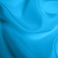 Silk Habotai Light - Kingfisher Blue