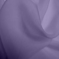 Silk Chiffon - Lilac (Dyed To Order)