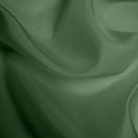 Silk Habotai Light - Moss Green