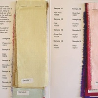 Silk Dupion Heavy Shot Colour Card