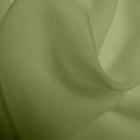 Silk Chiffon - Pistachio (Dyed To Order)