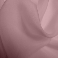 Silk Chiffon - Rosewater (Dyed To Order)