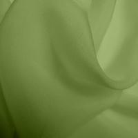 Silk Chiffon - Spring Green (Dyed To Order)