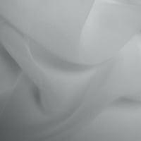 Silk Georgette - Titanium Silver