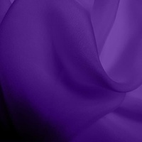 Silk Chiffon - Violet  (Dyed To Order)