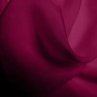 Silk Chiffon - Wine (Dyed To Order)