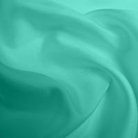 Silk Twill Medium - Aqua (Dyed To Order)