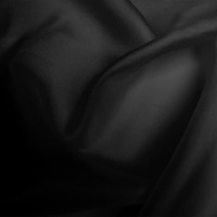 Silk Twill Light - Black (Dyed To Order)