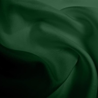 Silk Twill Medium - Bottle Green (Dyed To Order)