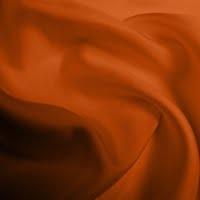 Silk Twill Medium - Burnt Orange (Dyed To Order)