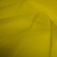 Silk Organza - Buttercup (Dyed To Order)