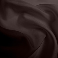 Silk Twill Medium - Cocoa (Dyed To Order)