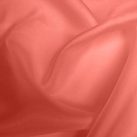 Silk Twill Light - Coral (Dyed To Order)