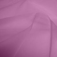 Silk Organza - Crushed Pink (Dyed To Order)