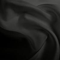 Silk Twill Medium - Dark Grey (Dyed To Order)