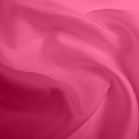 Silk Twill Medium - Hot Pink (Dyed To Order)