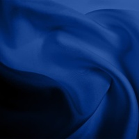 Silk Twill Medium - Indigo (Dyed To Order)
