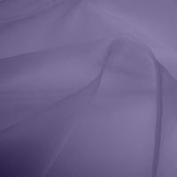 Silk Organza - Lilac (Dyed To Order)