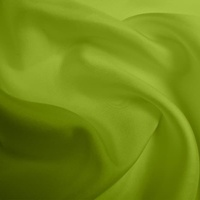 Silk Twill Medium - Lime (Dyed To Order)