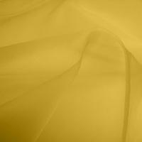Silk Organza - Ochre (Dyed To Order)