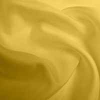 Silk Twill Medium - Ochre (Dyed To Order)