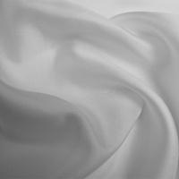 Silk Twill Medium - Optical White (Dyed To Order)